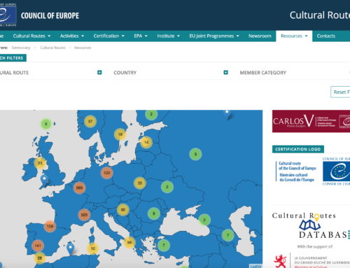 Cultural Routes Database with Interactive Map