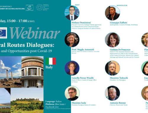 "Webinars: ""Cultural Routes Dialogues: challenges and opportunities post Covid-19"""