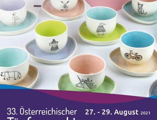 33. Austrian pottery market, Gmunden 27 –29 Aug 2021
